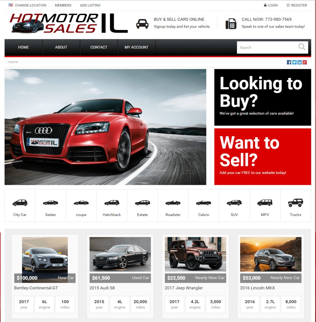 Hot Motor Sales IL