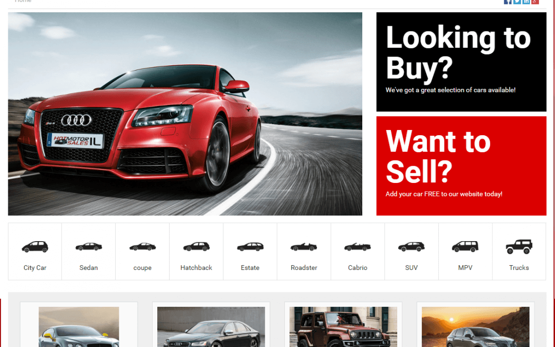 Car Sales – Car Dealerships – Auto, Motor, SUV