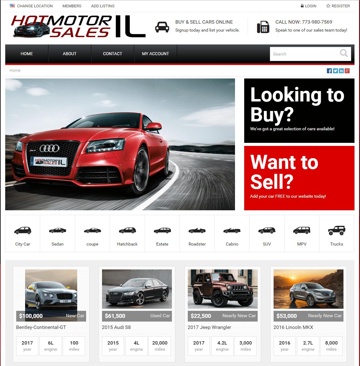 Hot Motor Sales IL